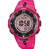 montre numérique femme Casio PRO-TREK PRW-3000-4BER