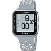 montre numérique homme Calypso Color Run K5748/4