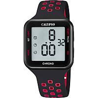 montre numérique homme Calypso Color Run K5748/5