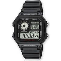 montre numérique homme Casio CASIO COLLECTION AE-1200WH-1AVEF