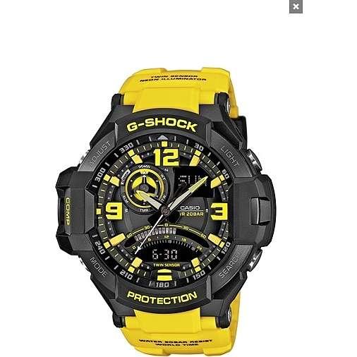 montre numérique homme Casio G-SHOCK GA-1000-9BER