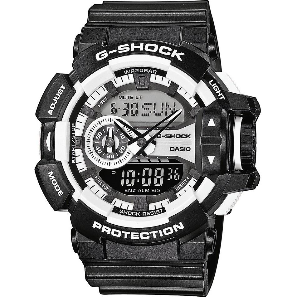 montre numérique homme Casio G-SHOCK GA-400-1AER