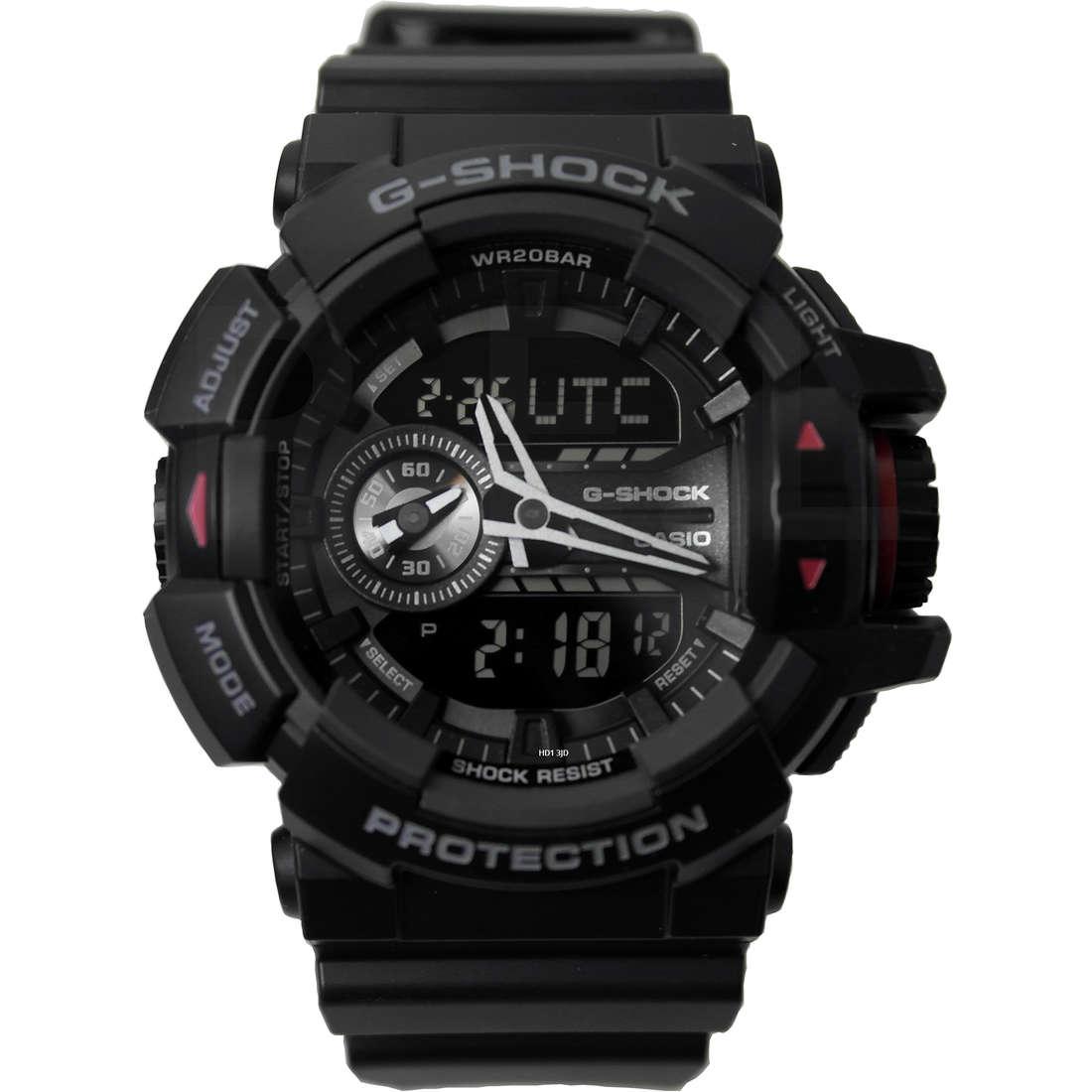 montre numérique homme Casio G-SHOCK GA-400-1BER