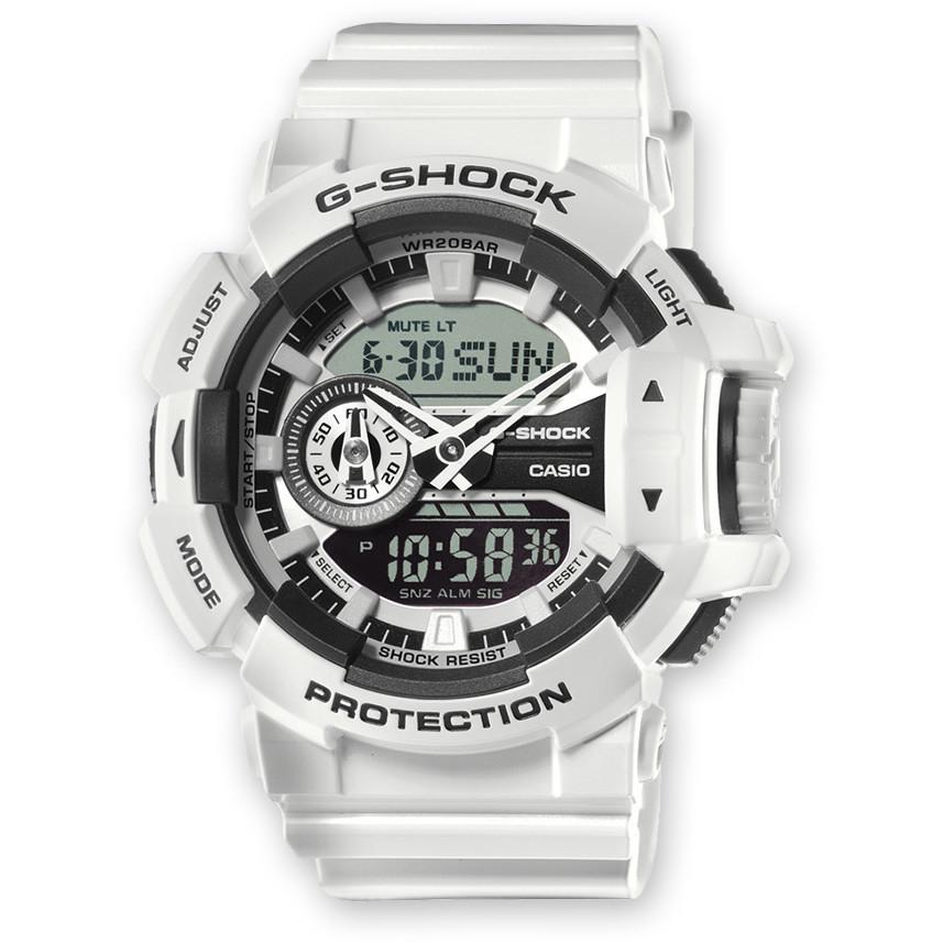 montre numérique homme Casio G-SHOCK GA-400-7AER