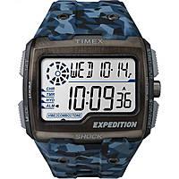 montre numérique homme Timex Grid Shock TW4B07100