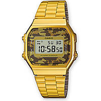 montre numérique unisex Casio CASIO COLLECTION A168WEGC-5EF