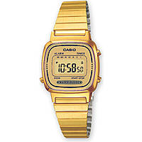 montre numérique unisex Casio CASIO COLLECTION LA670WEGA-9EF