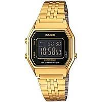 montre numérique unisex Casio CASIO COLLECTION LA680WEGA-1BER
