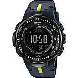 montre numérique unisex Casio PRO-TREK PRW-3000-2ER