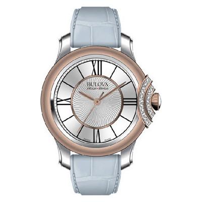 montre seul le temps femme Bulova Accu Swiss Bellecombe 65R158