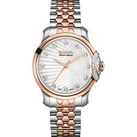 montre seul le temps femme Bulova Accu Swiss Bellecombe 65R164