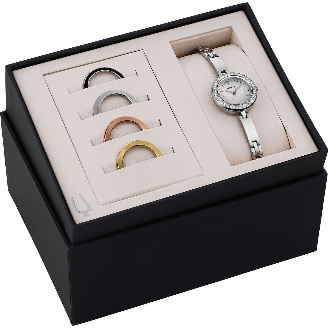 montre seul le temps femme Bulova Box Set 98X107