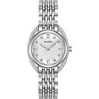 montre seul le temps femme Bulova Curv Diamonds 96R212