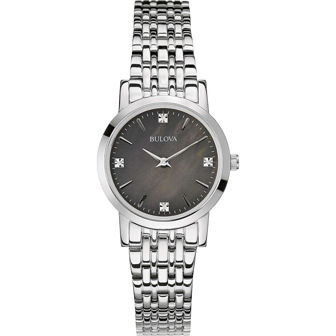 montre seul le temps femme Bulova Diamanti 96P148