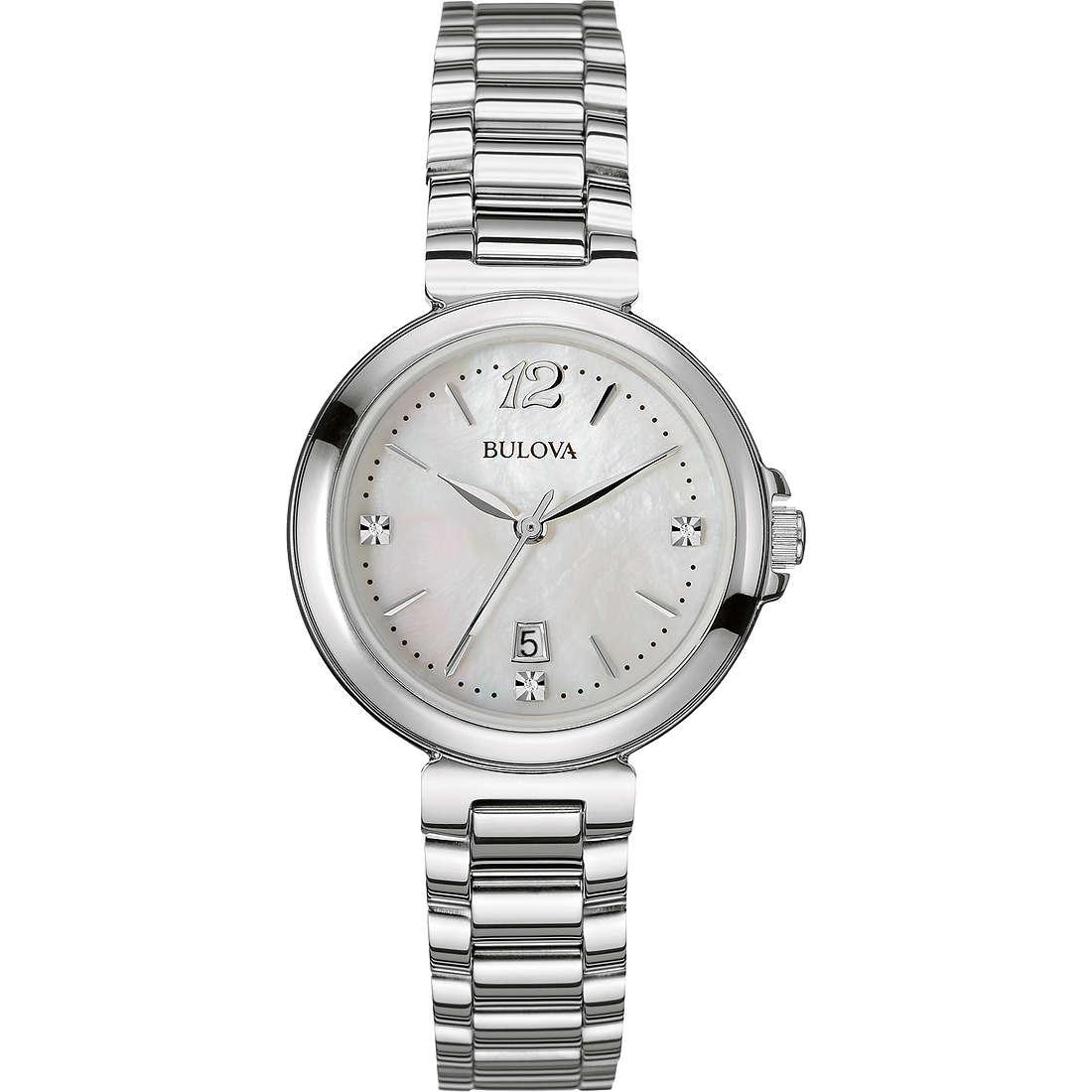 montre seul le temps femme Bulova Diamanti 96P149
