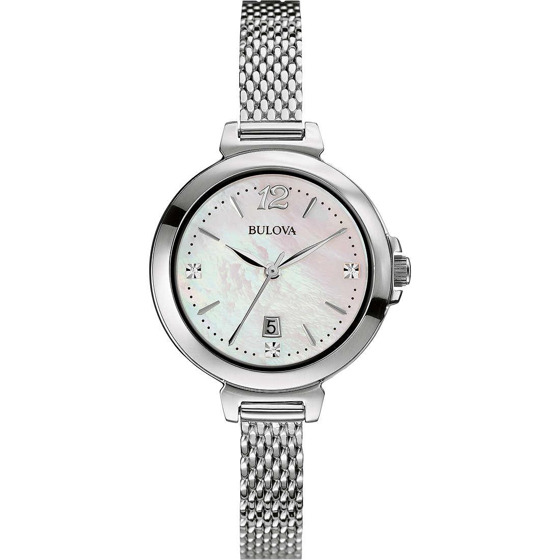 montre seul le temps femme Bulova Diamanti 96P150