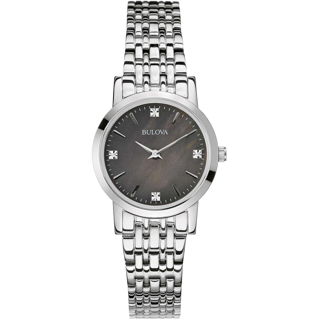 montre seul le temps femme Bulova Diamanti 96S148