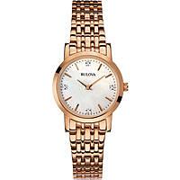 montre seul le temps femme Bulova Diamanti 97S106