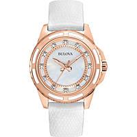 montre seul le temps femme Bulova Diamanti 98S119