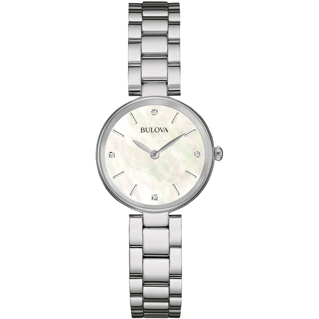 montre seul le temps femme Bulova Diamonds 96S159