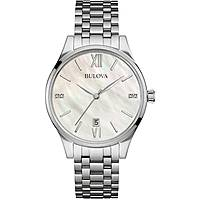 montre seul le temps femme Bulova Diamonds 96S161
