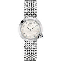montre seul le temps femme Bulova Diamonds 96S163