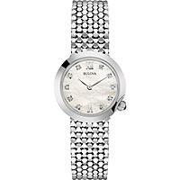 montre seul le temps femme Bulova Diamonds 96S163