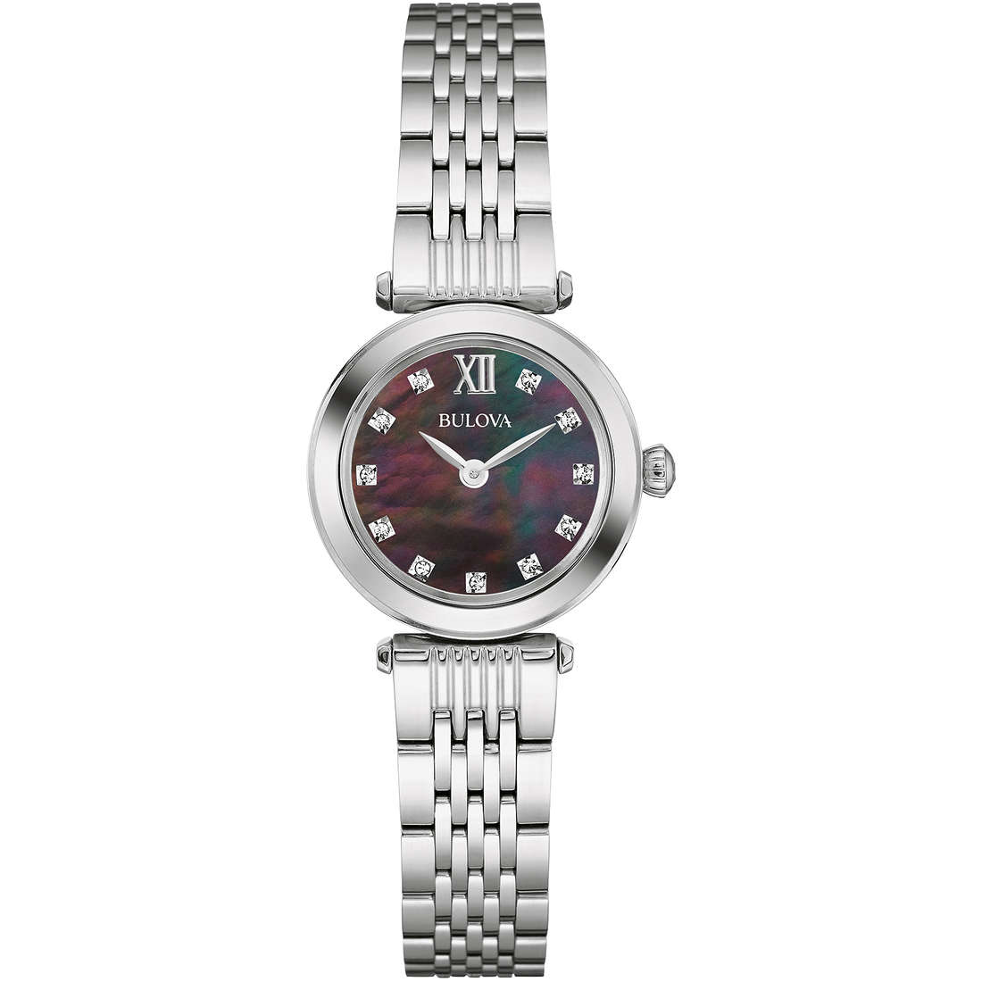 montre seul le temps femme Bulova Diamonds 96S169
