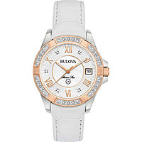 montre seul le temps femme Bulova Diamonds 98R233