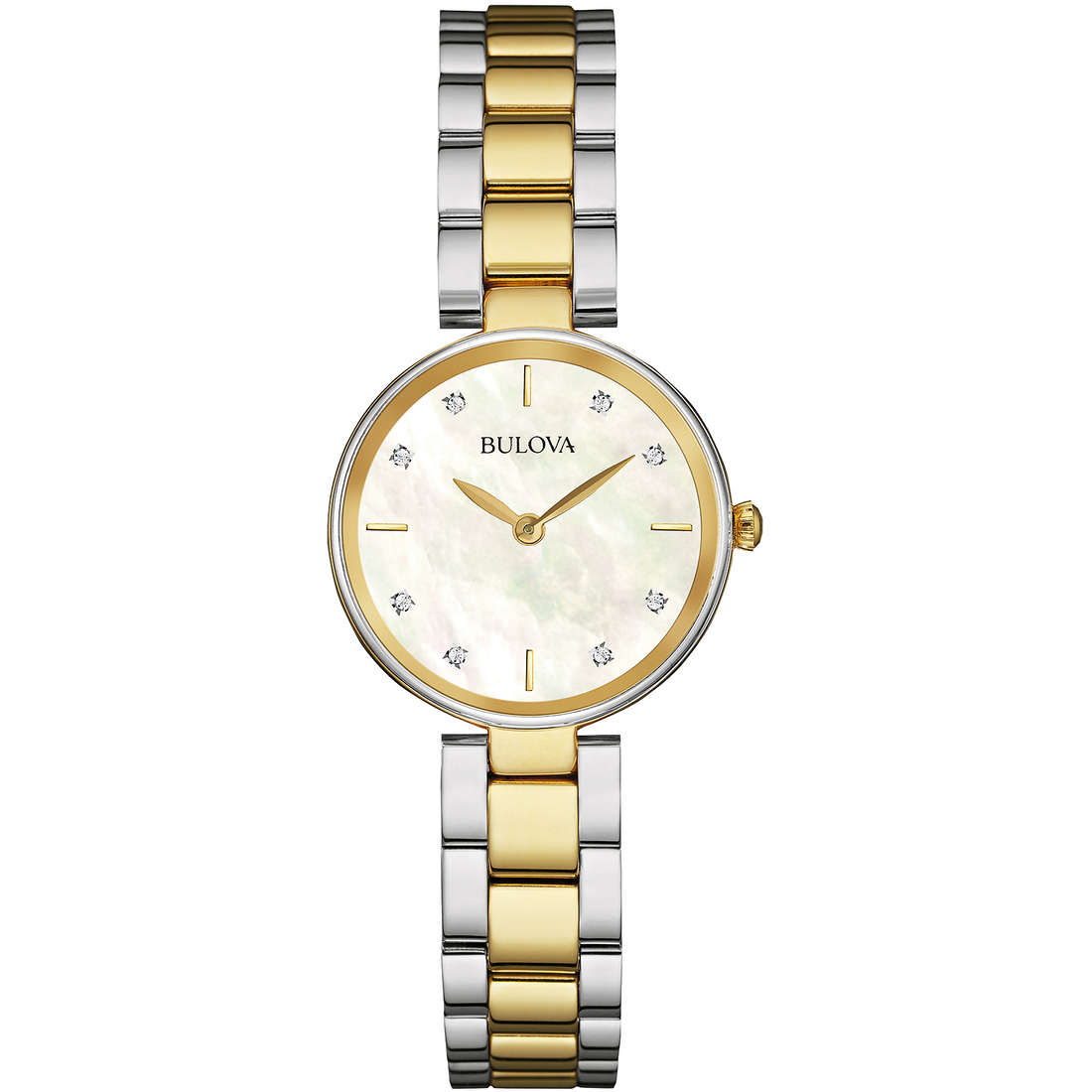 montre seul le temps femme Bulova Diamonds 98S146