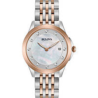 montre seul le temps femme Bulova Diamonds 98S162