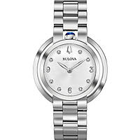 montre seul le temps femme Bulova Diamonds Rubyat 96P184