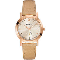 montre seul le temps femme Bulova Dress 97L146