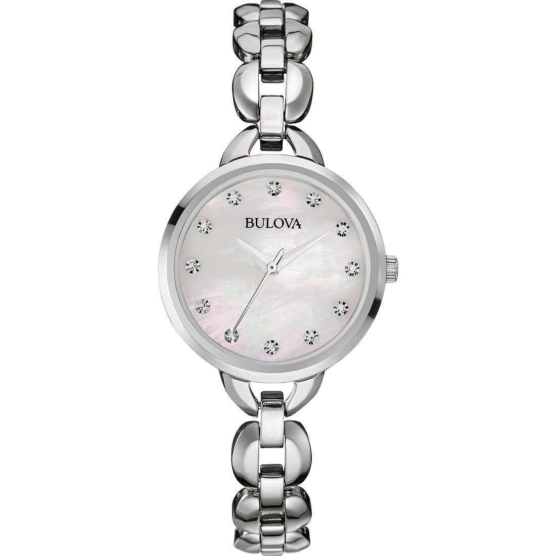 montre seul le temps femme Bulova Ladies Crystal 96L204
