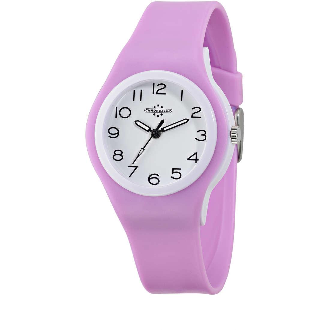 montre seul le temps femme Chronostar Colori R3751250503