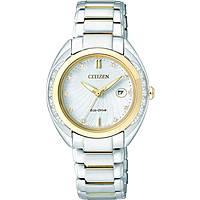 montre seul le temps femme Citizen Eco-Drive EW2254-58A