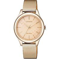 montre seul le temps femme Citizen Lady EM0503-83X