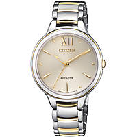 montre seul le temps femme Citizen Lady EM0554-82X