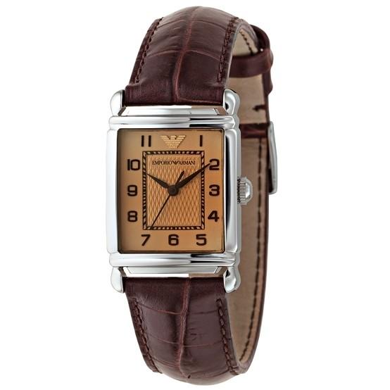 montre seul le temps femme Emporio Armani AR0404