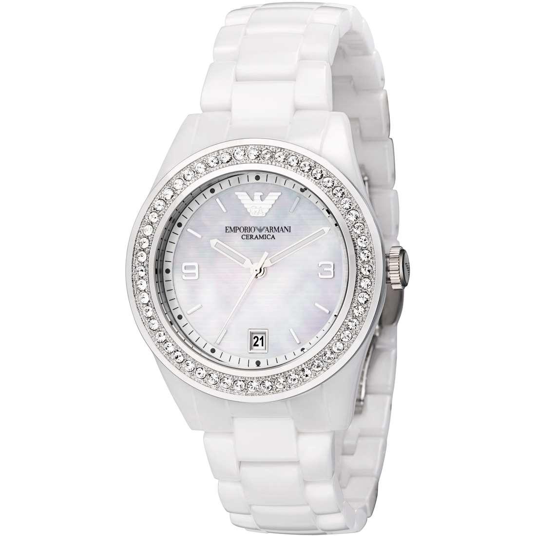 montre seul le temps femme Emporio Armani AR1426