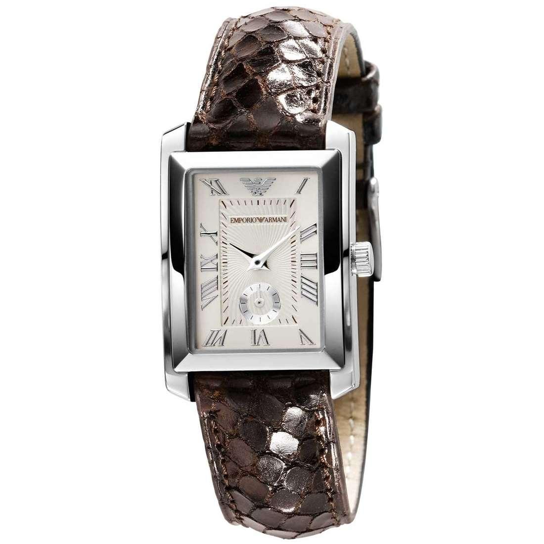 montre seul le temps femme Emporio Armani AR5756