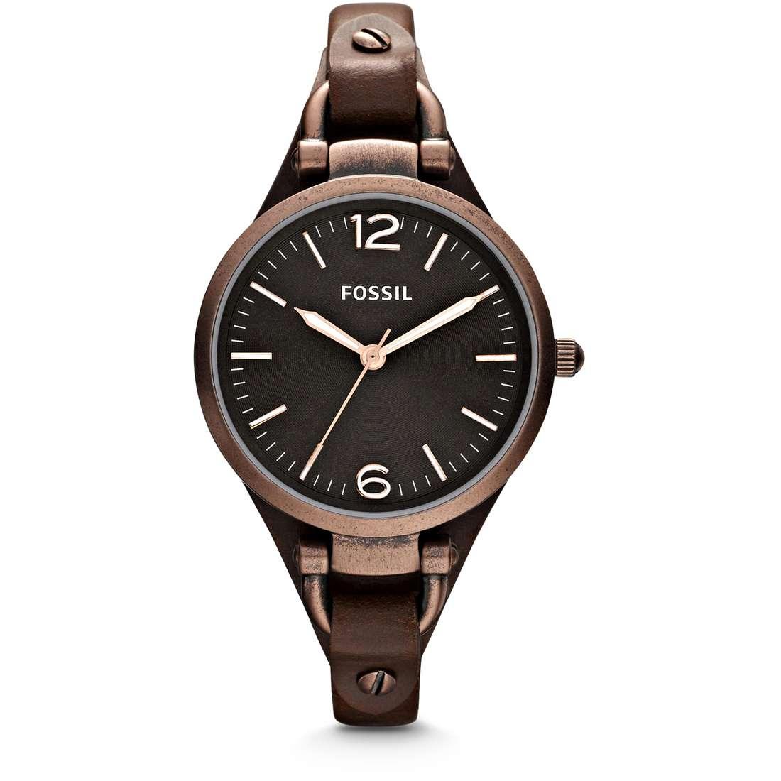 montre seul le temps femme Fossil Georgia ES3200