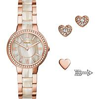 montre seul le temps femme Fossil Virginia Box Set ES3965SET