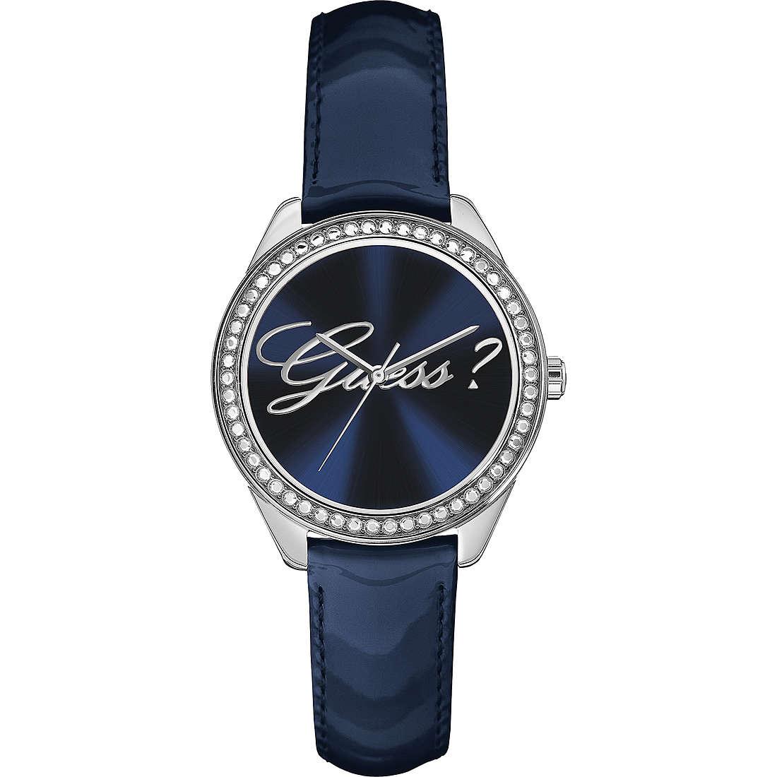 montre seul le temps femme Guess Blue Blue W0619L1