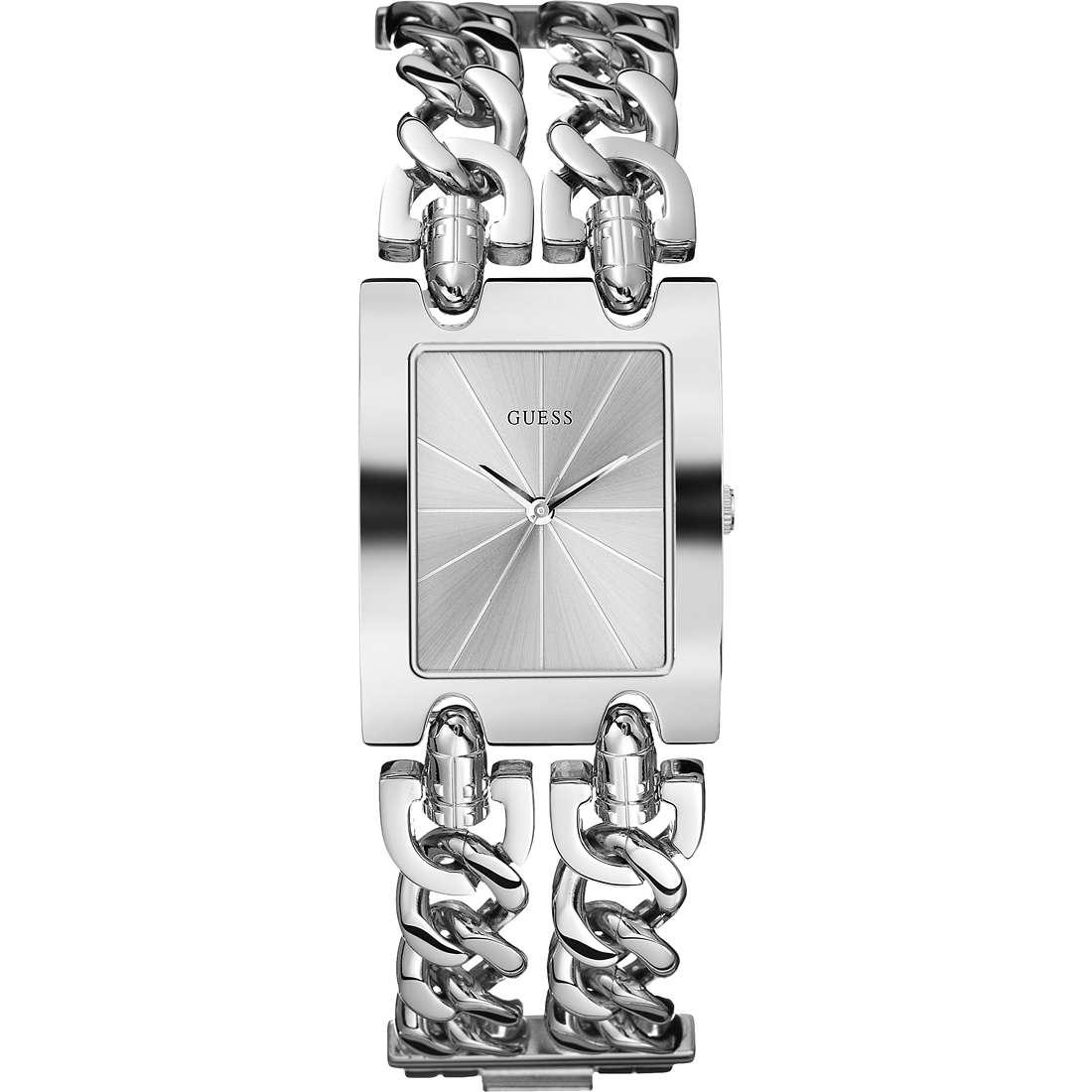 montre seul le temps femme Guess Glamour Chain W0311L1