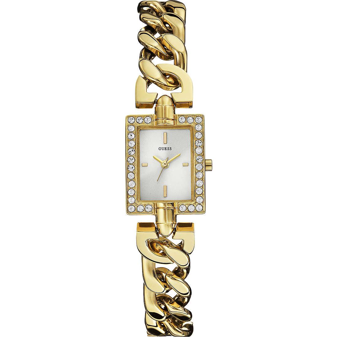 montre seul le temps femme Guess Glamour Chain W0540L2