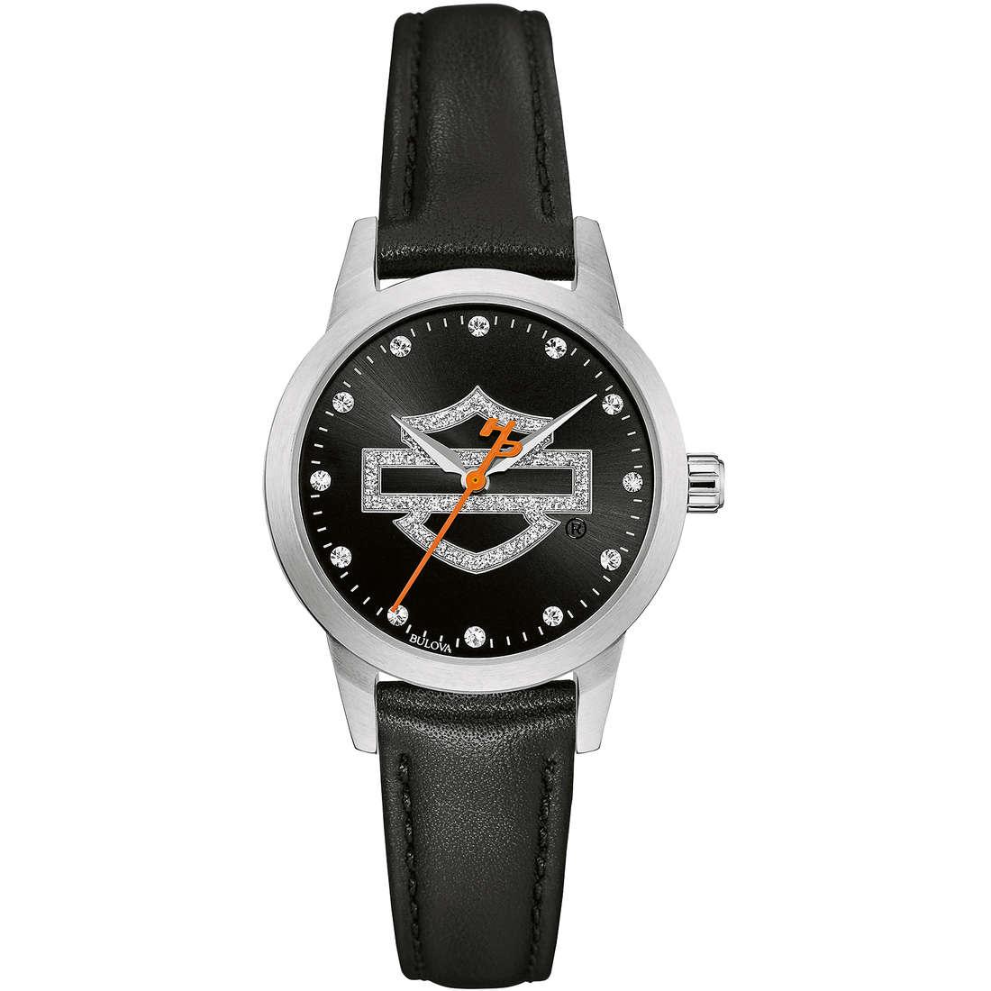 montre seul le temps femme Harley Davidson 76L181