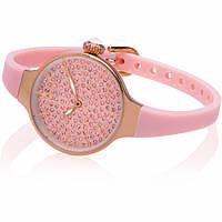 montre seul le temps femme Hoops Cherié Diamonds 160 2593LBG04