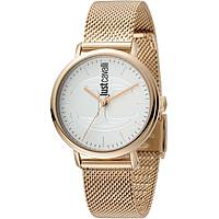 montre seul le temps femme Just Cavalli Cool Fresh Clean JC1L012M0085