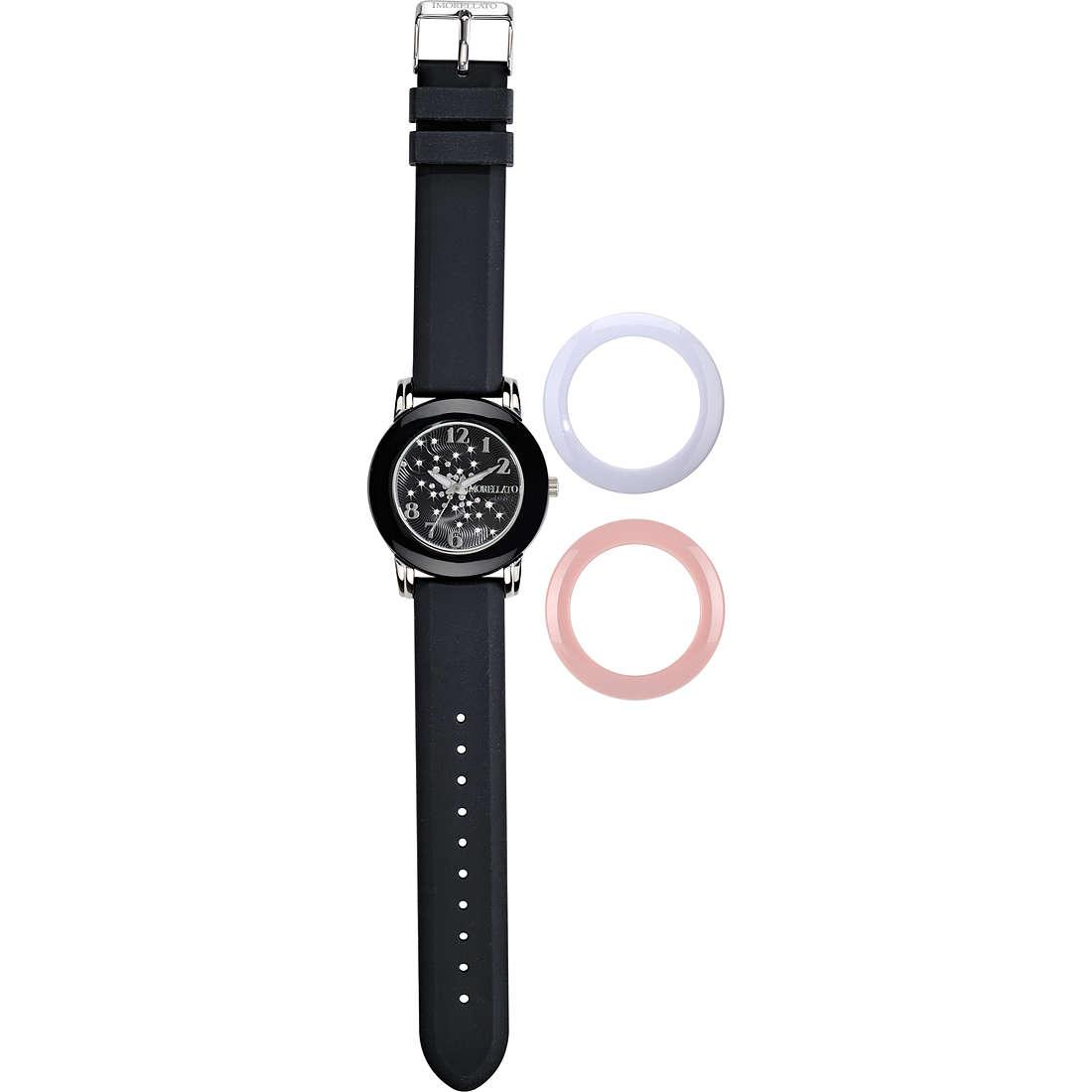 montre seul le temps femme Morellato Black & White R0151100515